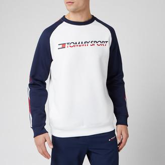 Tommy Hilfiger Men's Fleece Tape Crew Neck Sweatshirt