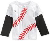 Champion Baby Boys' Layered-Look Graphic-Print T-Shirt