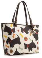 Handbag, Scottie Dogs Tote, Medium