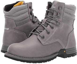 Caterpillar Paisley 6 Soft Toe (Dolphin Full Grain Leather) Women's Work Boots