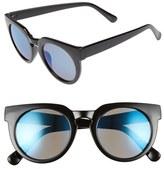 BP 51mm Round Mirrored Sunglasses