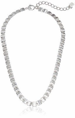 Robert Lee Morris Soho Women's Sculptural Square Link Collar Necklace