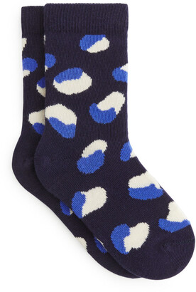 Arket Animal Jacquard Socks