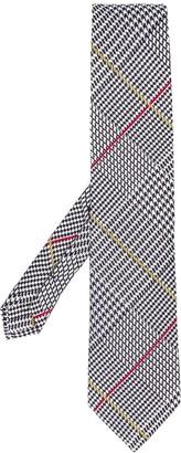 Etro houndstooth formal silk tie
