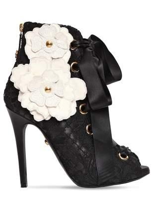 Fausto Puglisi Black Leather Boots