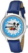Disney Kids' W000020 Mickey Mouse Stainless Steel Time Teacher Watch