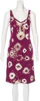 Piazza Sempione Printed Knee-Length Dress