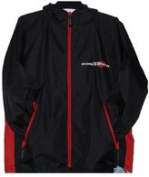 JH Design Dodge Challenger Raincoat Winbreaker Jacket With Packing Pouch