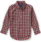 Ralph Lauren Little Boys 2T-7 Small-Check Twill Shirt