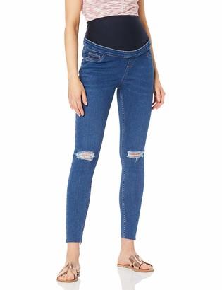 New Look Maternity Women's Harper Mid Knee Skinny Jeans