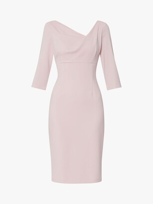 Gina Bacconi Alanis Crepe Dress