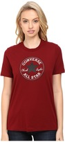 Converse Core Solid Short Sleeve Core Patch Crew Tee