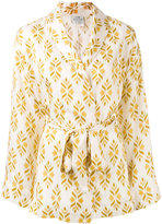 Forte Forte Diamante print jacket - women - Silk - 3