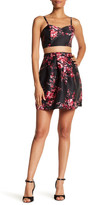Amy Byer A. BYER Printed Faux 2-Piece Party Dress