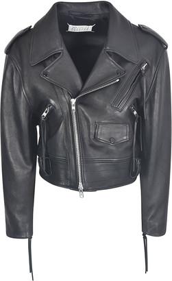 Maison Margiela Cropped Biker Jacket