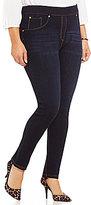 Peter Nygard Nygard Slims Plus Luxe Denim Skinny Jeans