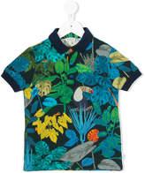 Paul Smith jungle print polo shirt