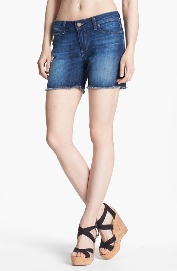 Paige 'Jimmy Jimmy' Cutoff Denim Shorts (Penelope)