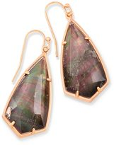 Kendra Scott Carla Drop Earrings in Crystal Gray Illusion