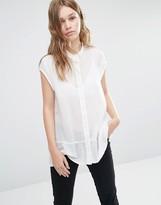 Gestuz Daisy Peplum Shirt