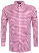 Ralph Lauren Gingham Shirt Red