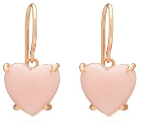 Irene Neuwirth Love Opal & 18kt Rose-gold Drop Earrings - Womens - Rose Gold
