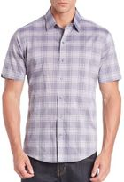 Zachary Prell Spence Plaid Sport Shirt