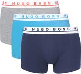Boss Three Pack Soft Cotton Boxer Trunks