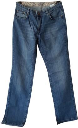 Cerruti Blue Cotton Jeans for Women