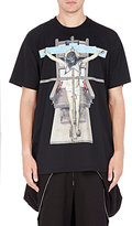 Givenchy Men's Mixed-Iconography T-Shirt-BLACK