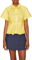 Paul & Joe Sister Delphes Cotton Lace Panel Top