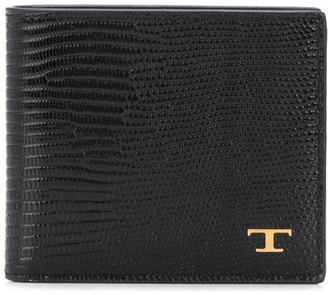Tod's Lizard Skin-Effect Wallet