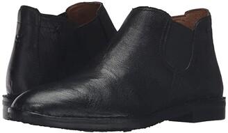 Trask Allison (Black Italian Washed Sheepskin) Women's Dress Boots