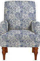 John Lewis Sterling Armchair, Light Leg, Morris & Co Marigold Indigo Linen