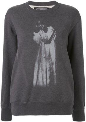 Undercover Cindy Sherman print sweatshirt