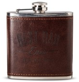 Nobrand No Brand Buxton Best Dad Ever Leather Flask