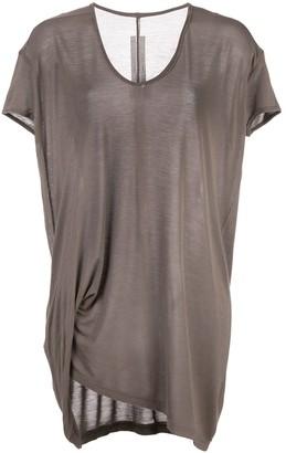 Rick Owens Hiked draped T-shirt