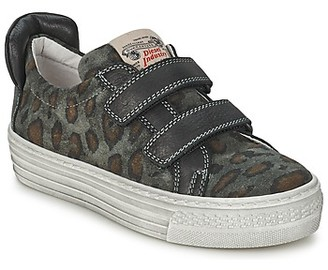 Diesel JERMAN girls's Shoes (Trainers) in Grey