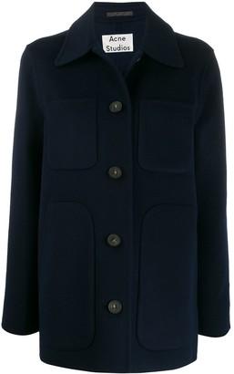 Acne Studios Collared Pocket Coat