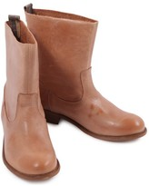 Bensimon Leather Ankle Boots