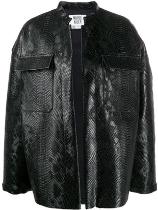 MAISIE WILEN Oversized Embossed Jacket