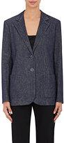 Giorgio Armani Women's Denim Two-Button Jacket