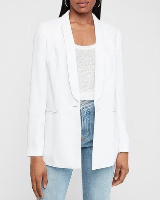 Express Shawl Collar Boyfriend Blazer