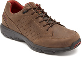 Rockport New Chocolate Lace to Toe Leather Sneaker - Men