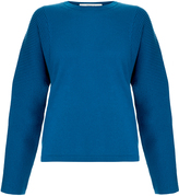 Pringle Knitted Merino Wool Sculpted Sleeve Sweater