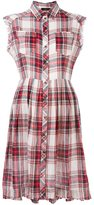 Diesel checked buttoned dress