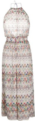 Missoni Mare Abstract Pattern Dress