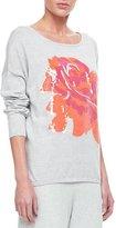Joan Vass Sequin Dolman Sleeve Sweater, Plus Size