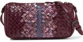 Bottega Veneta Intrecciato Ayers Shoulder Bag - Purple
