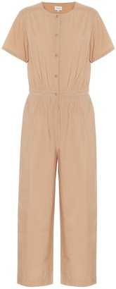 Woolrich Cotton-poplin jumpsuit